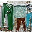 Energie sparen: Wäsche trocknet auch im Winter draußen