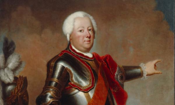 Eine Monographie über Friedrich Wilhelm I. von Frank Göse gehört zu den wichtigsten Neuerscheinungen in diesem Herbst. Hier der Soldatenkönig auf einem Gemälde von Antoine Pesne, um 1733. Quelle: privat/DHM