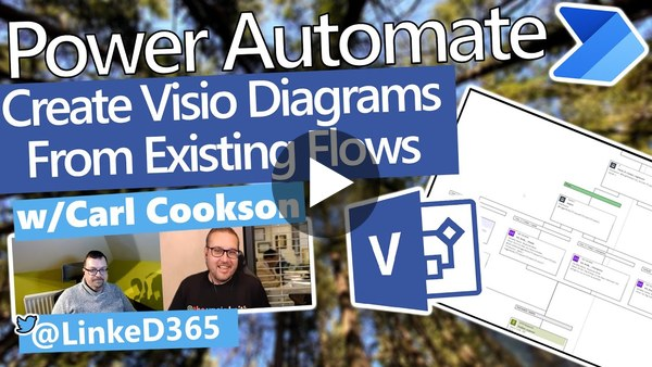 Power Automate Tutorial Turning Flows into Visio Diagrams with the XRM Toolbox