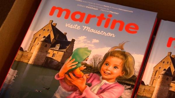 """""""Martine visite Mouscron"""" part comme des petits pains - """"Tiny bezoekt Moeskroen"""" vliegt de deur uit"""