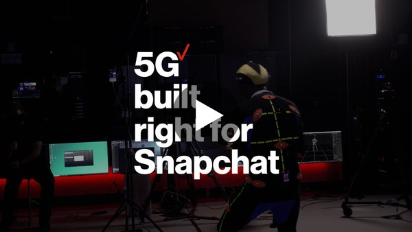 5G Built Right for Snapchat   Verizon