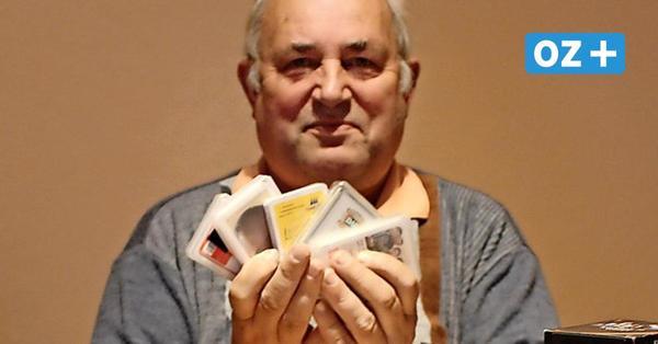 Spiel mit dem Reizen: Dieser Usedomer hat über 500 Skatspiele gesammelt