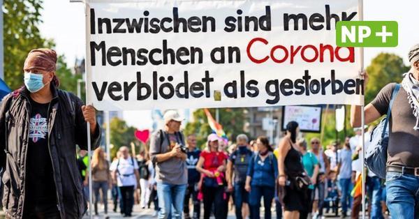 """Nach Randale in Berlin: Polizei rüstet sich für""""Querdenker"""" in Hannover"""