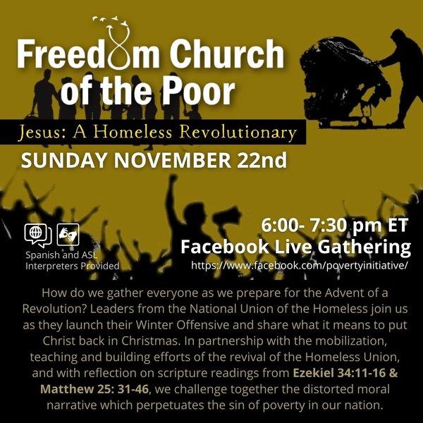 This Sunday at 6pm EST