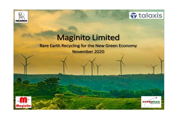 Mkango Resources Ltd (MKA.TSX.L) launch of a new website for Maginito Limited