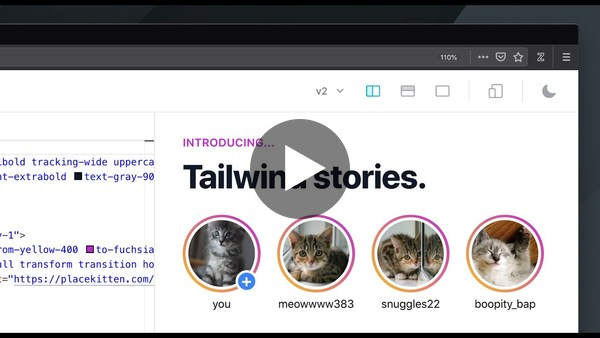 Rebuilding the Instagram Stories UI with Tailwind CSS