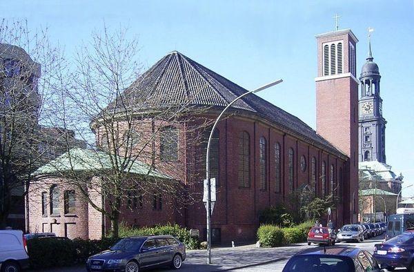 Le « petit Michel » : l'église française et francophone de Hambourg