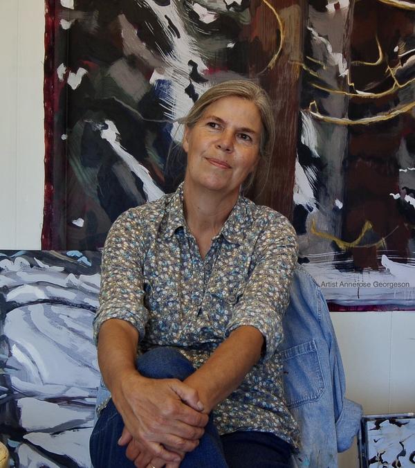 Landscape Painter Annerose Georgeson