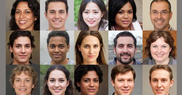 AI-generierte Gesichter sind jetzt ein Ding