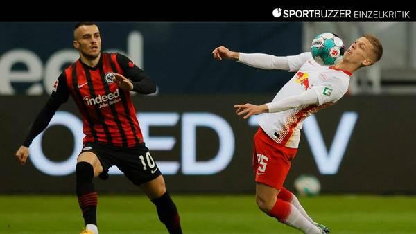 RB Leipzig in der Einzelkritik: Die Noten zum 1:1 bei Eintracht Frankfurt