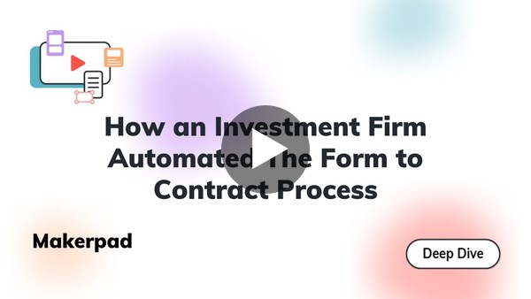 Automating The Form to Contract Process with Formstack