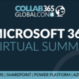 📅 GlobalCon4: Microsoft 365 Virtual Conference for the community