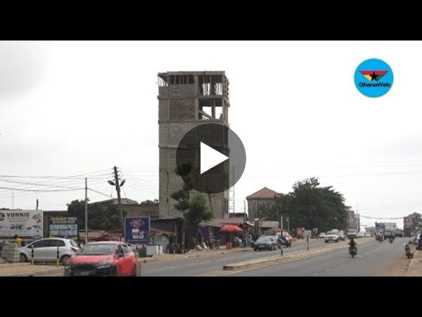 Ashaley Botwe 6 floor 'tower of babel' set to be pulled down