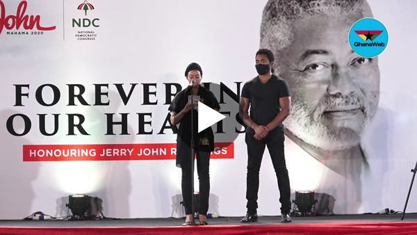 Rawlings's children speak publicly for the first time after his death