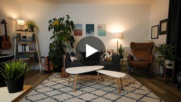 My Productive Apartment Tour (2020)