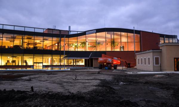 Die Havel-Therme in Werder steht kurz vor der Eröffnung. Foto: Schauer&Co.