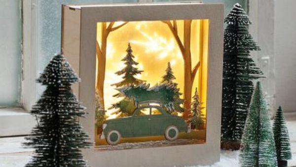 Lichterketten selber basteln: Vier DIY-Basteltipps an Weihnachten