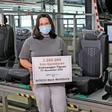 Jubiläum: VW-Tochter Sitech baute drei Millionen Tiguan-Sitzsets