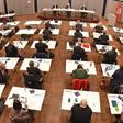Erste Ratssitzung im Kieler Schloss - Umzug wegen Corona