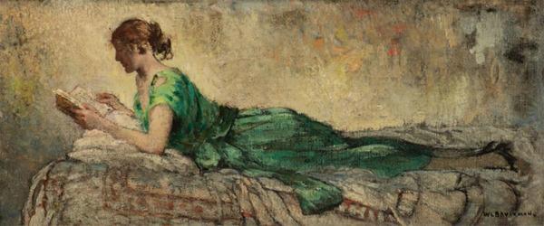 'De roman' - marouflé: Willem Leendert Bruckman (kavel 25, Adams Amsterdam Auctions)