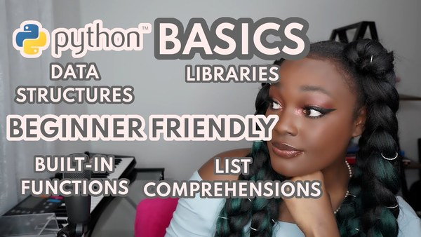 Python basics for beginners by Ifueko Igbinedion