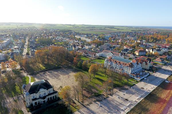 Blick auf Kühlungsborn-West (Foto: Rolf Barkhorn)