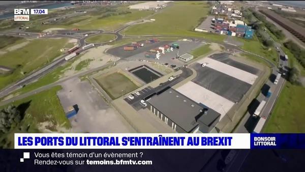 Les ports s'entrainent avant l'entrée en vigueur du Brexit - Havens oefenen voor Brexit van kracht wordt