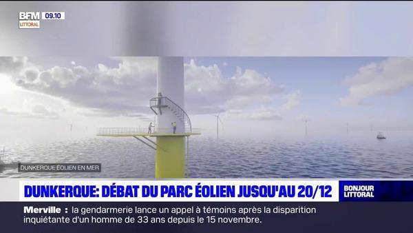 Dunkerque: un débat public sur le futur parc éolien - Duinkerke: een publiek debat over het toekomstige windmolenpark