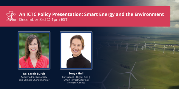 Join Us for an ICTC Policy Presentation on Smart Energy & the Environment