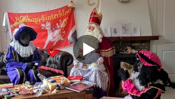 OUD ADE/RIJPWETERING - Alternatieve intocht Sinterklaas 2020 (video)