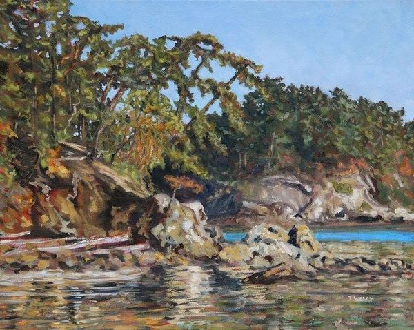 Terrill Welch   Bennett Bay Afternoon (2020)   Available for Sale   Artsy