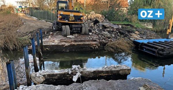 Greifswalder Ryck-Wehr abgerissen: Spannende Pläne für das Areal