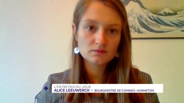 Alice Leeuwerck face aux difficultés des communes frontalières en temps de pandémie - Alice Leeuwerck verduidelijkt specifieke moeilijkheden waarop grensgemeenten botsen