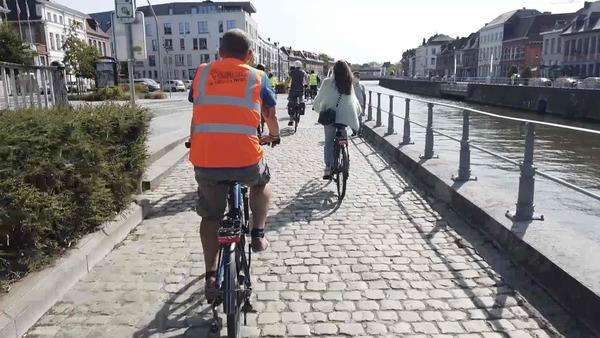 La pratique du vélo à Tournai progresse, les étudiants peuvent encore mieux faire - Meer fietsers in Doornik, nog groeimarge bij studenten