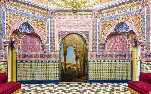 Gabinete árabe o sala de fumar del Palacio Real de Aranjuez (Historiaenestudio)