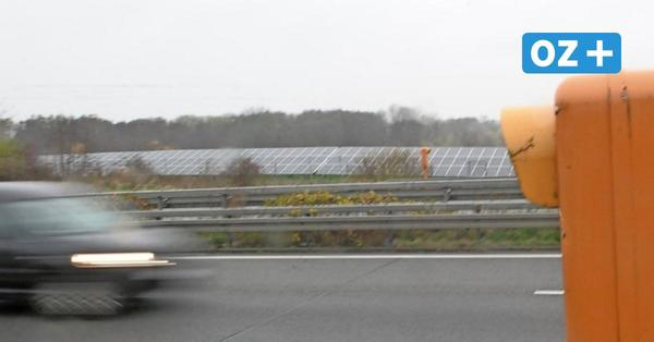 Neuer Solarpark an A20 bei Groß Siemz: Ökostrom für über 3000 Haushalte