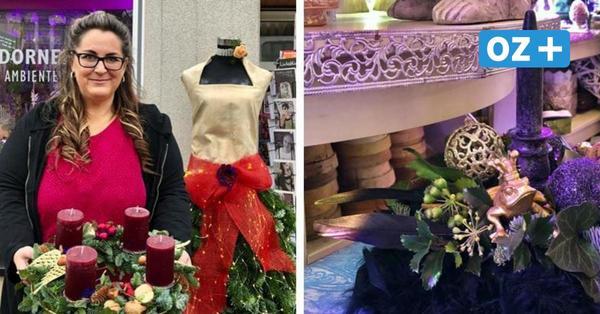 Ein Adventsgesteck auf den letzten Drücker: Usedomer Floristin zeigt, wie es geht