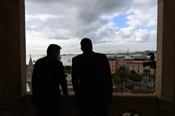 De Spaanse en Italiaanse premier