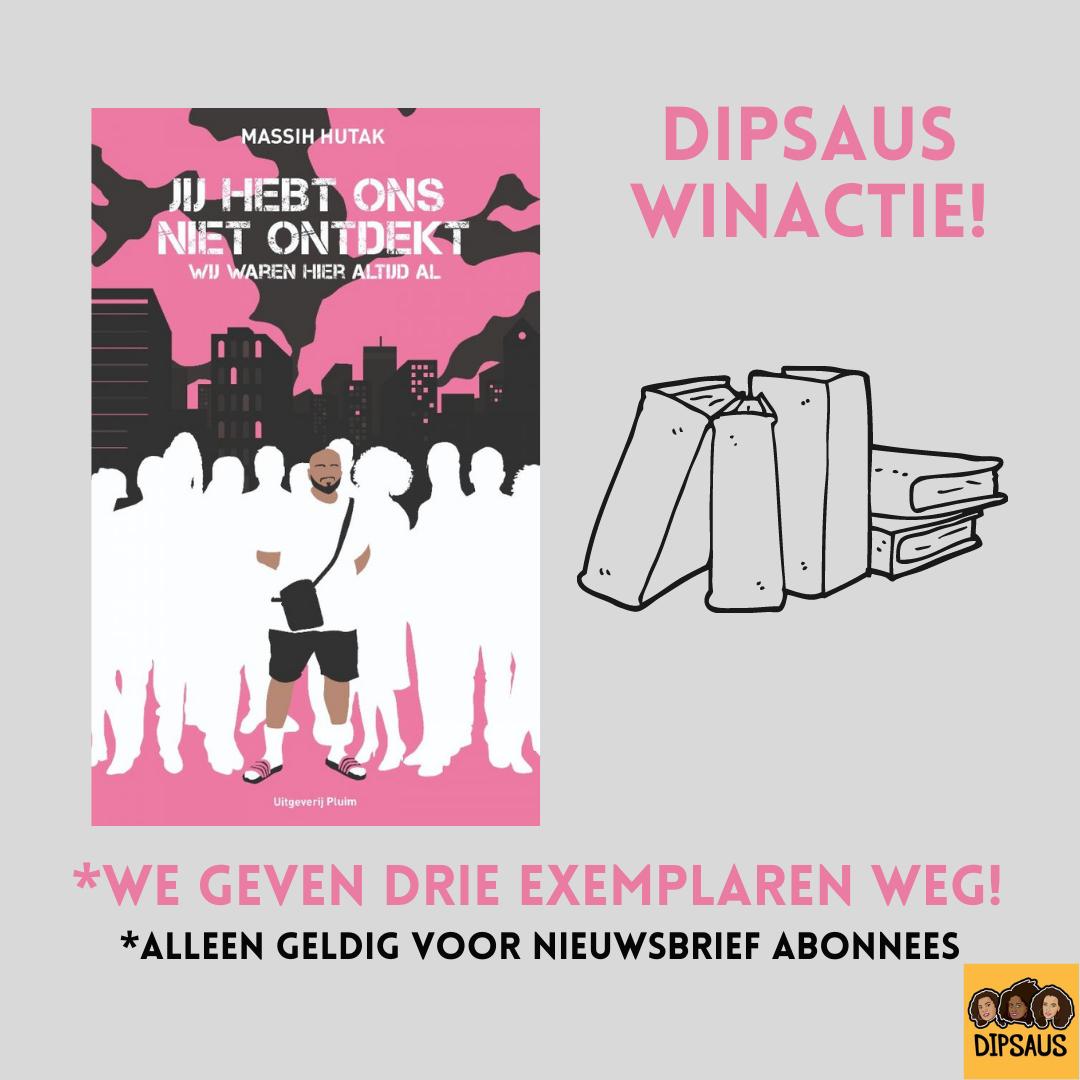 Stuur een email met een goed verhaal naar dipsauspordcast@gmail.com en win een boek!