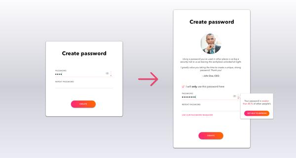 Nudging Safer Passwords