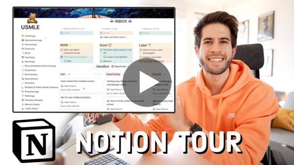Notion Tour (Dashboard & Setup) - How I Organize My Life