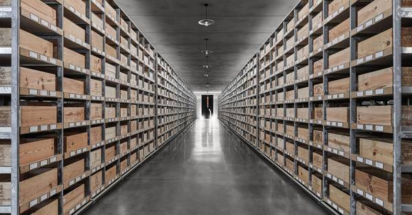 This high-tech, Bavarian bunker is storing the world's finest wines