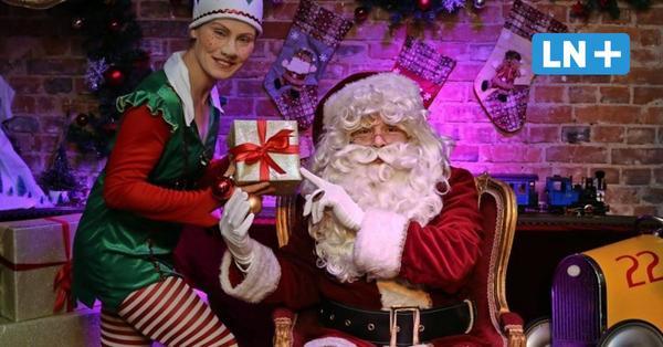 Lübeck: Santa plaudert mit Kindern aus seinem Weihnachtsmann-Büro