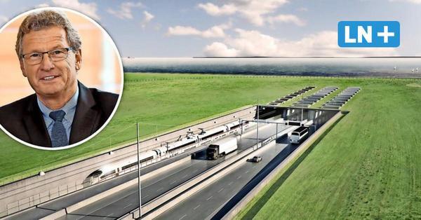 LN-Interview: Buchholz spricht über möglichen Eröffnungstermin für Fehmarnbelttunnel