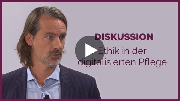 Richard David Precht Diskussion: KI und Robotik in der Pflege