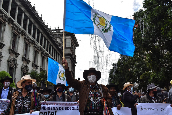 Social discontent in Guatemala is growing (Movilización 24N. Nelton Rivera)