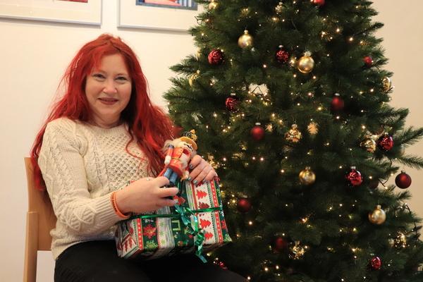 Die Teltowerin Jeannette Paech plant einen virtuellen Weihnachtsmarkt. Foto: Konstanze Kobel-Höller