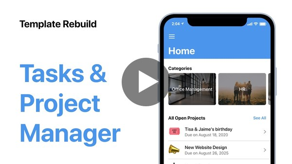 Build your own Project Manager App | Introduction