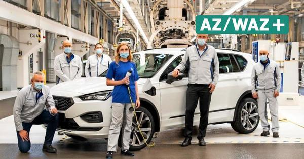 VW-Werk Wolfsburg: Erstes Hybridmodell läuft in Fertigung 2 vom Band