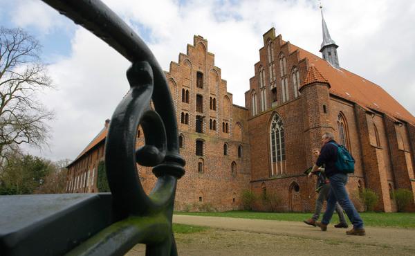 Das Kloster Wienhausen. (Foto: Peter Steffen/dpa)